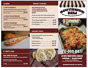 South Side Deli - Catering - Page 2
